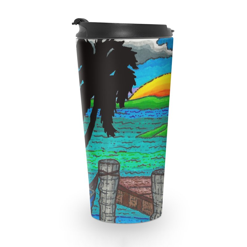 Paradise Accessories Travel Mug by Paxton's Artist Shop