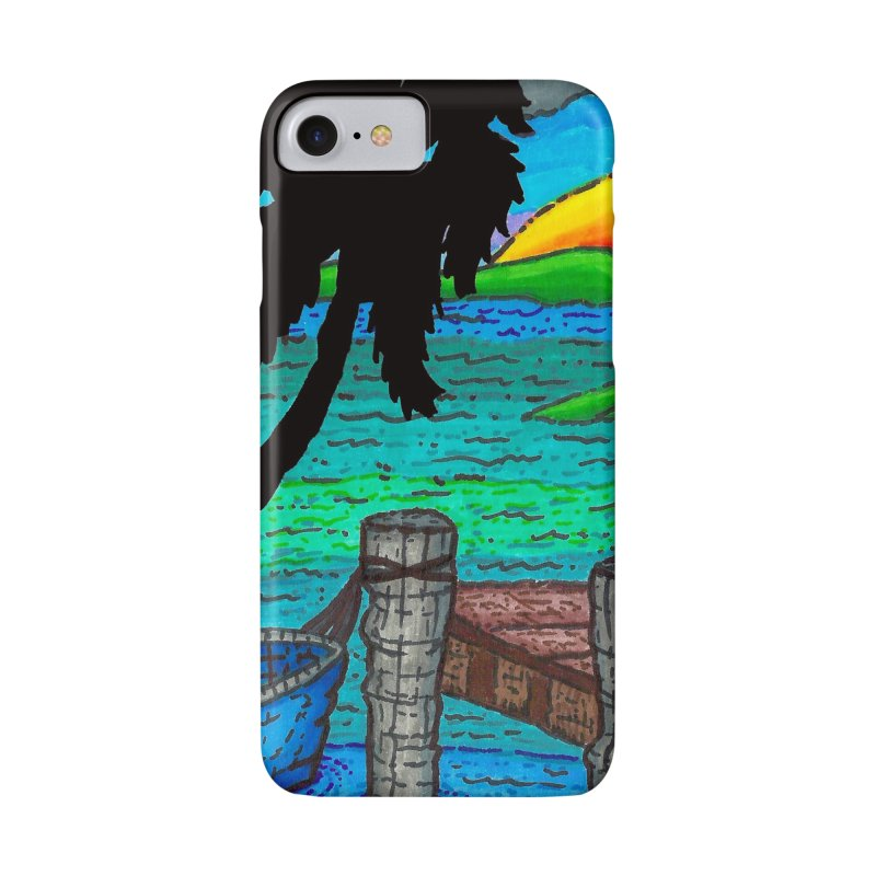 Paradise Accessories Phone Case by Paxton's Artist Shop