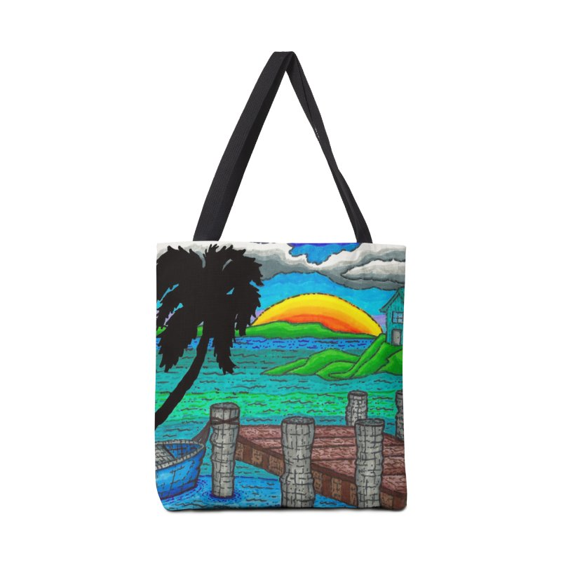 Paradise Accessories Bag by Paxton's Artist Shop