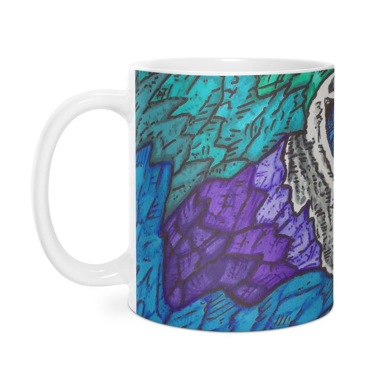 Parrot Accessories Mug by Paxton's Artist Shop