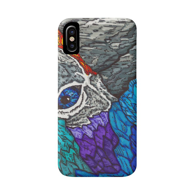 Parrot Accessories Phone Case by Paxton's Artist Shop