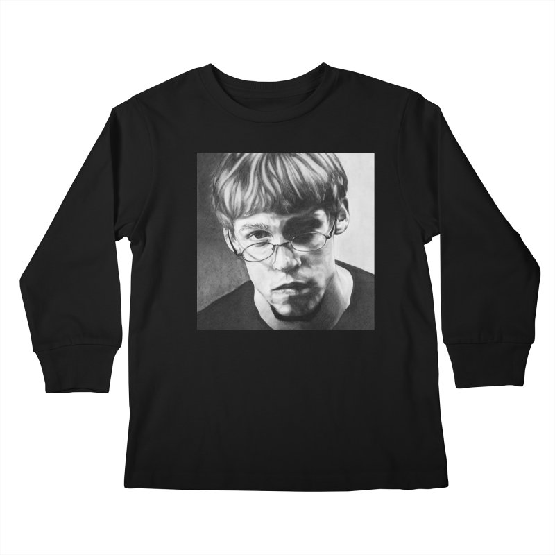 Nick Kids Longsleeve T-Shirt by Paxton's Artist Shop