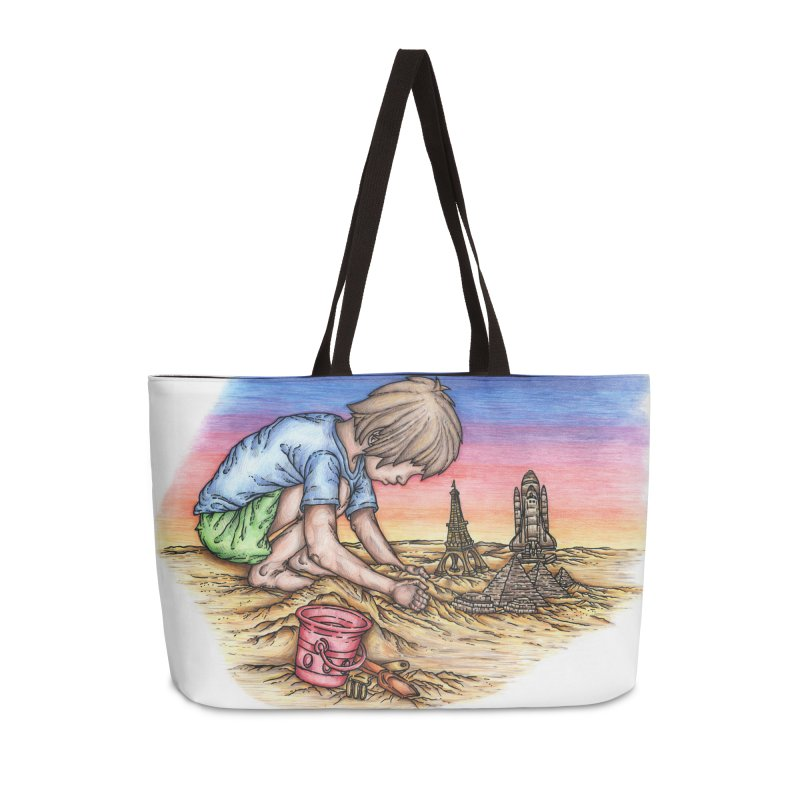 Hands of Time Accessories Weekender Bag Bag by Paxton's Artist Shop