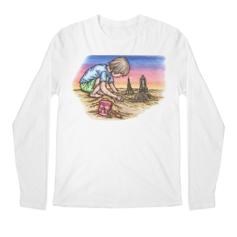 Hands of Time Men's Longsleeve T-Shirt by Paxton's Artist Shop