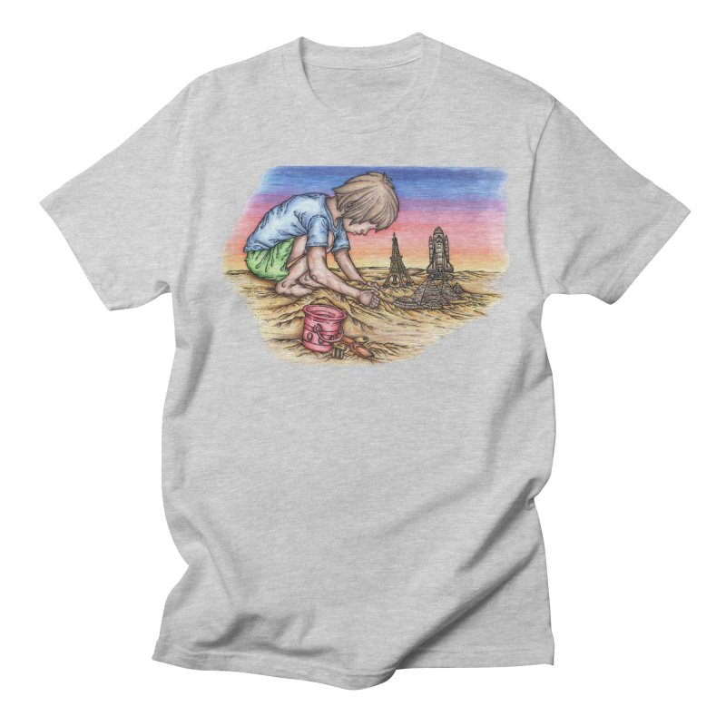 Hands of Time Men's Regular T-Shirt by Paxton's Artist Shop