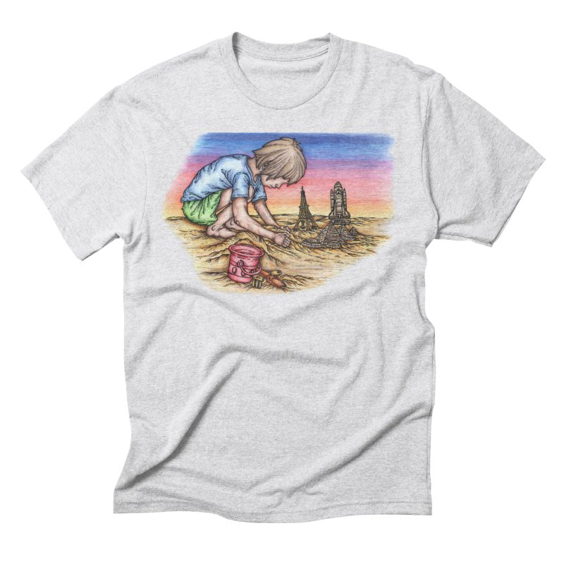 Hands of Time Men's Triblend T-Shirt by Paxton's Artist Shop
