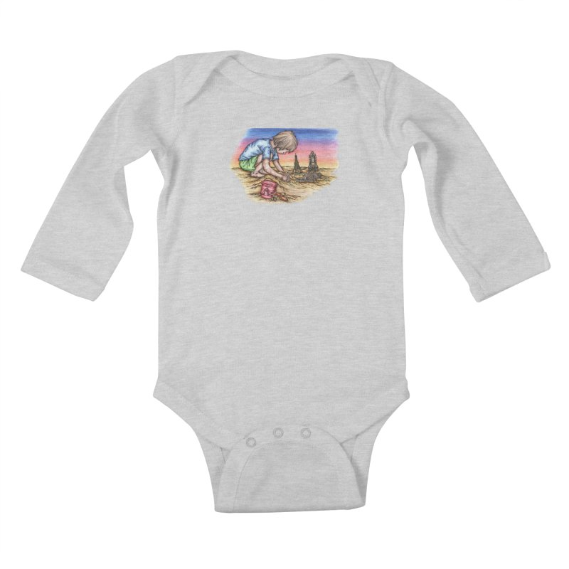 Hands of Time Kids Baby Longsleeve Bodysuit by Paxton's Artist Shop
