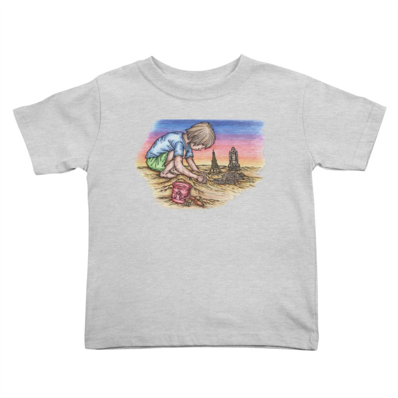 Hands of Time Kids Toddler T-Shirt by Paxton's Artist Shop