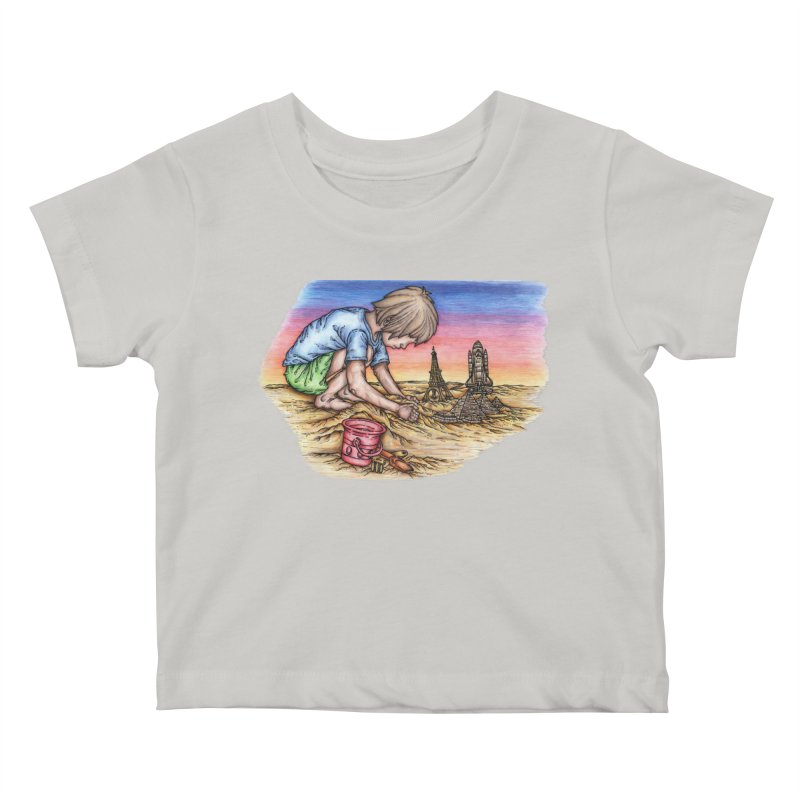Hands of Time Kids Baby T-Shirt by Paxton's Artist Shop