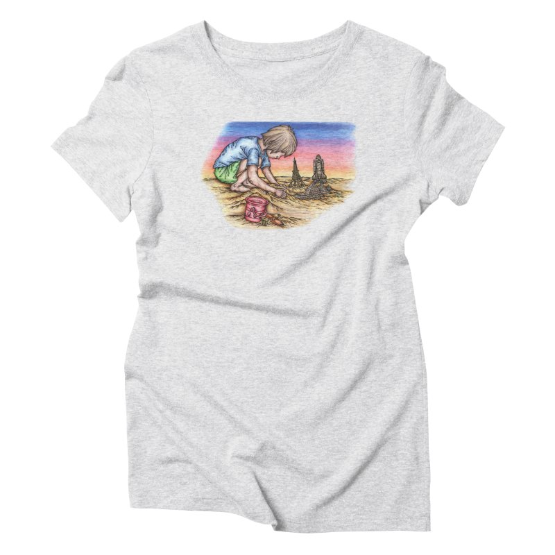 Hands of Time Women's T-Shirt by Paxton's Artist Shop