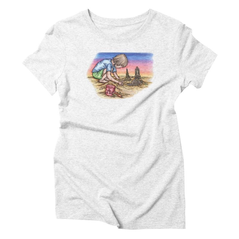 Hands of Time Women's Triblend T-shirt by Paxton's Artist Shop