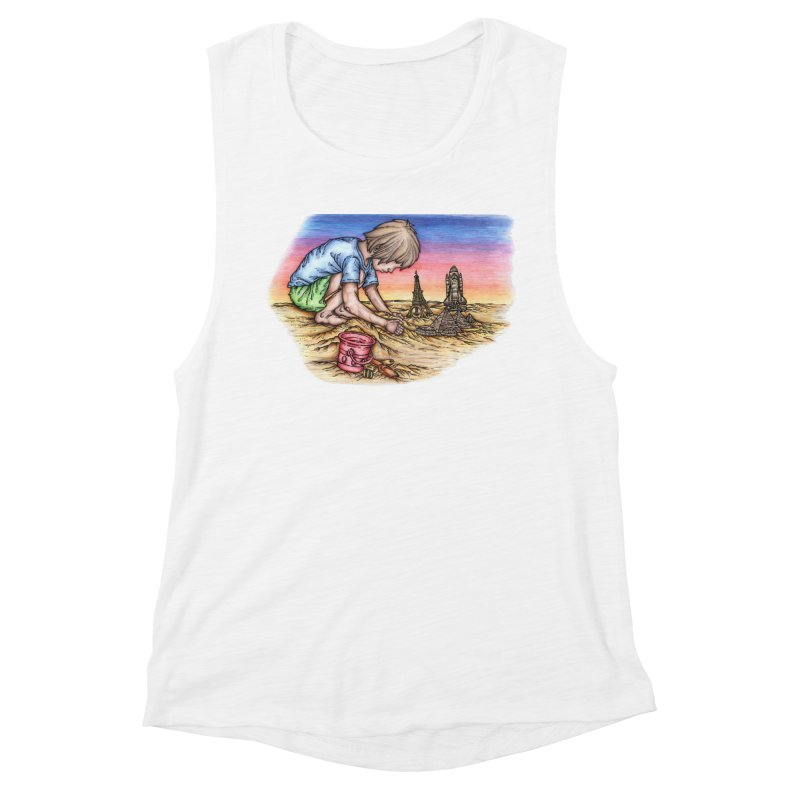Hands of Time Women's Tank by Paxton's Artist Shop