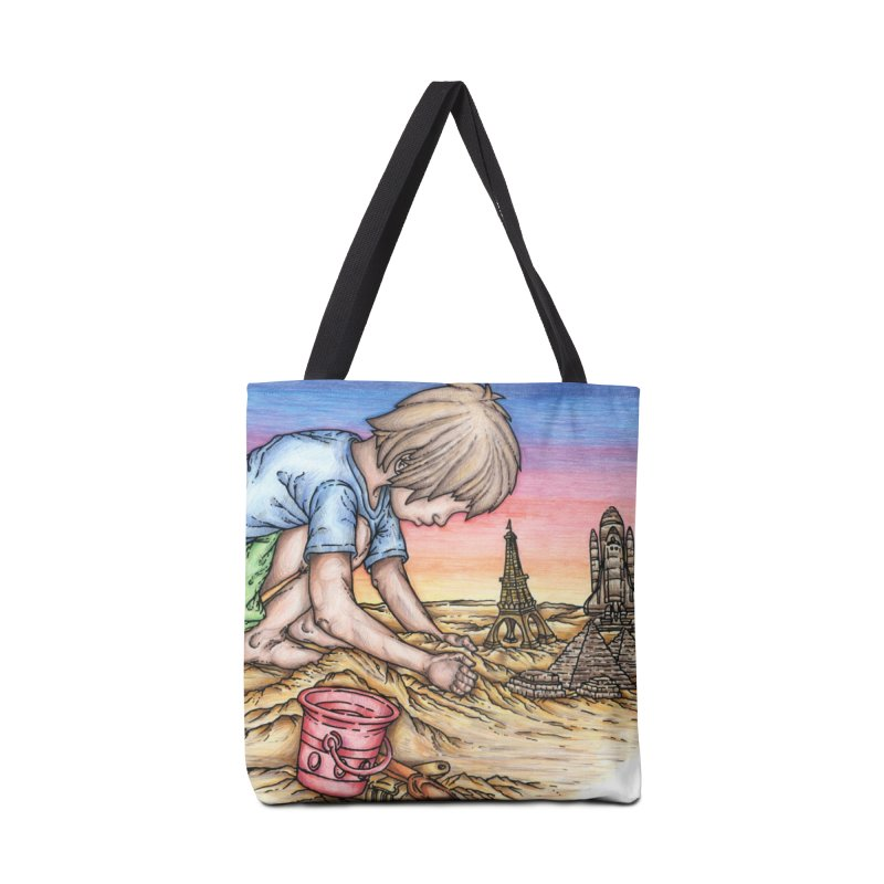Hands of Time Accessories Bag by Paxton's Artist Shop