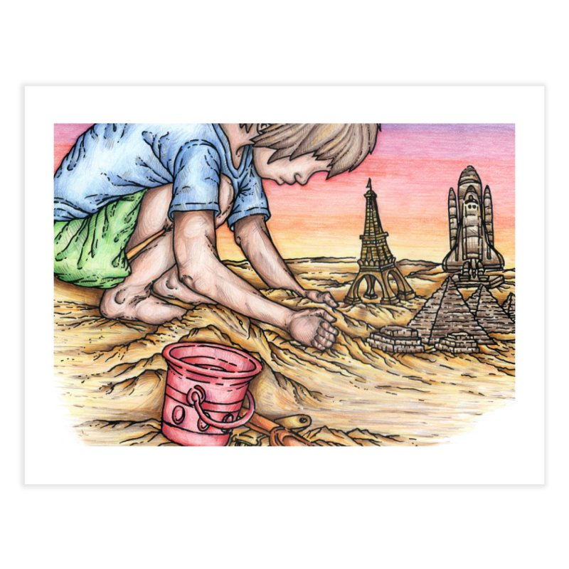 Hands of Time Home Fine Art Print by Paxton's Artist Shop