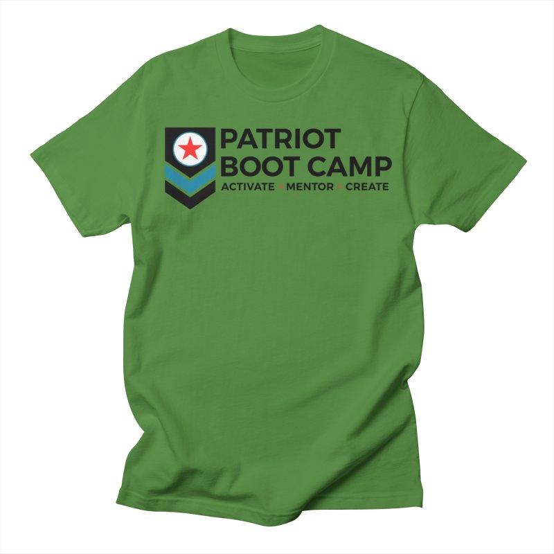 Patriot Boot Camp (new) Men's Regular T-Shirt by Patriot Boot Camp Shirt Shop