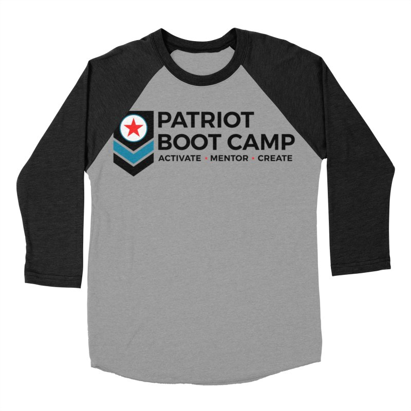 Patriot Boot Camp (new) Men's Baseball Triblend Longsleeve T-Shirt by Patriot Boot Camp Shirt Shop