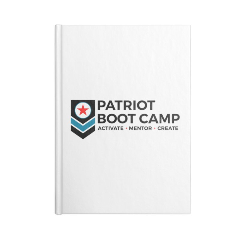 Patriot Boot Camp (new) Accessories Lined Journal Notebook by Patriot Boot Camp Shirt Shop