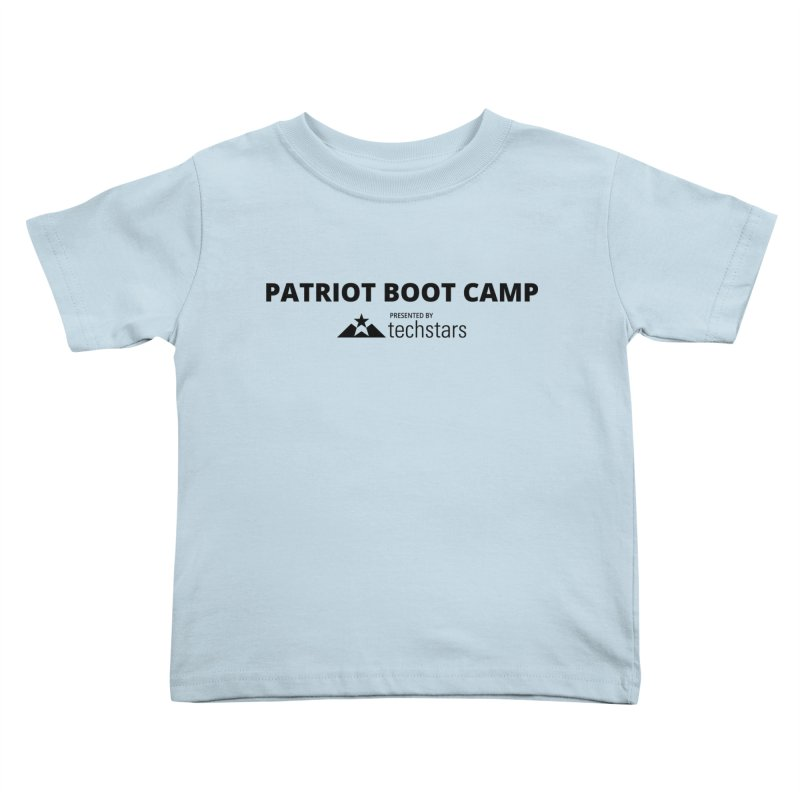 PBC x Techstars Logo Shirts Kids Toddler T-Shirt by Patriot Boot Camp Shirt Shop