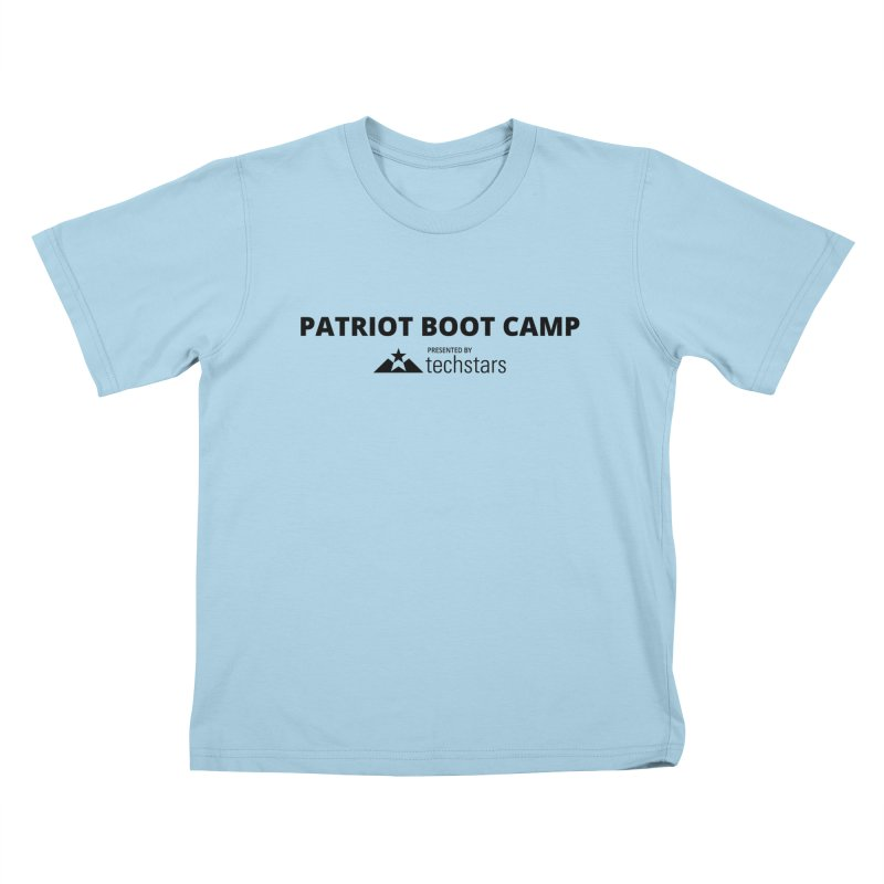 PBC x Techstars Logo Shirts Kids T-Shirt by Patriot Boot Camp Shirt Shop