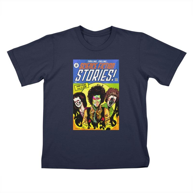 Third Stone Experience Kids T-Shirt by Krishna Designs