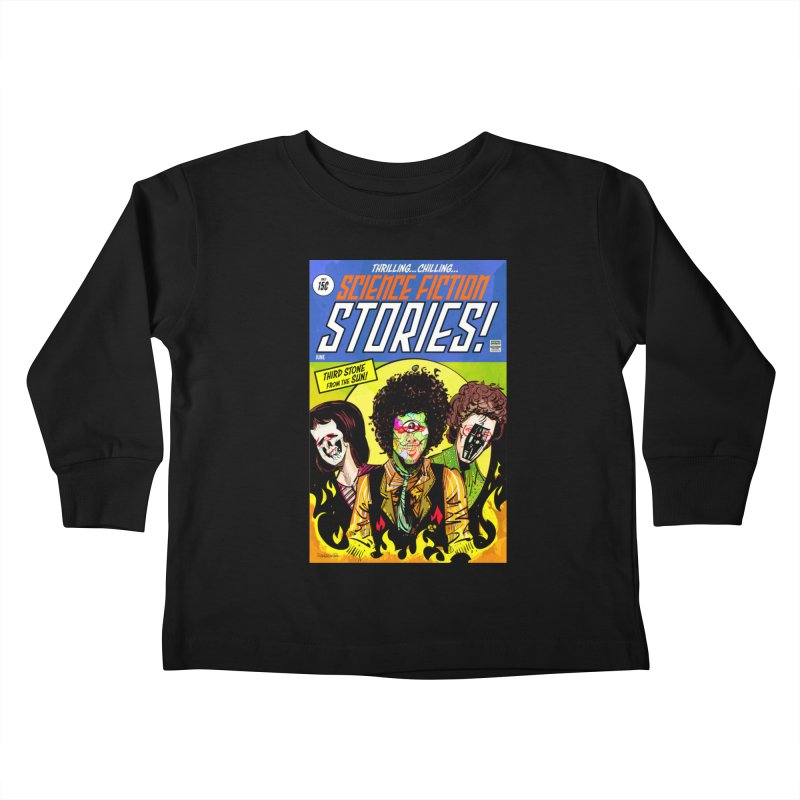 Third Stone Experience Kids Toddler Longsleeve T-Shirt by Krishna Designs