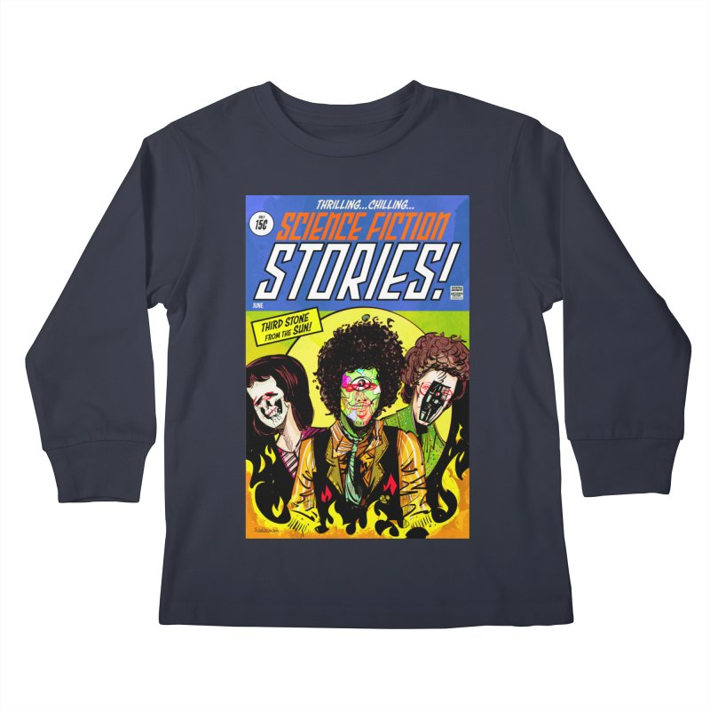 Third Stone Experience Kids Longsleeve T-Shirt by Krishna Designs