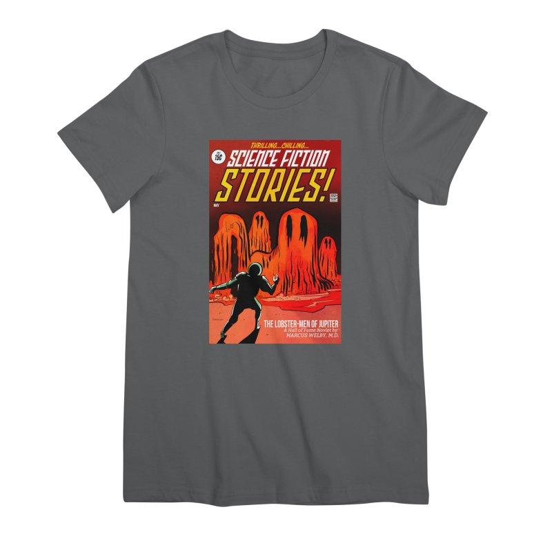 Lobster Men from Mars Women's T-Shirt by Krishna Designs