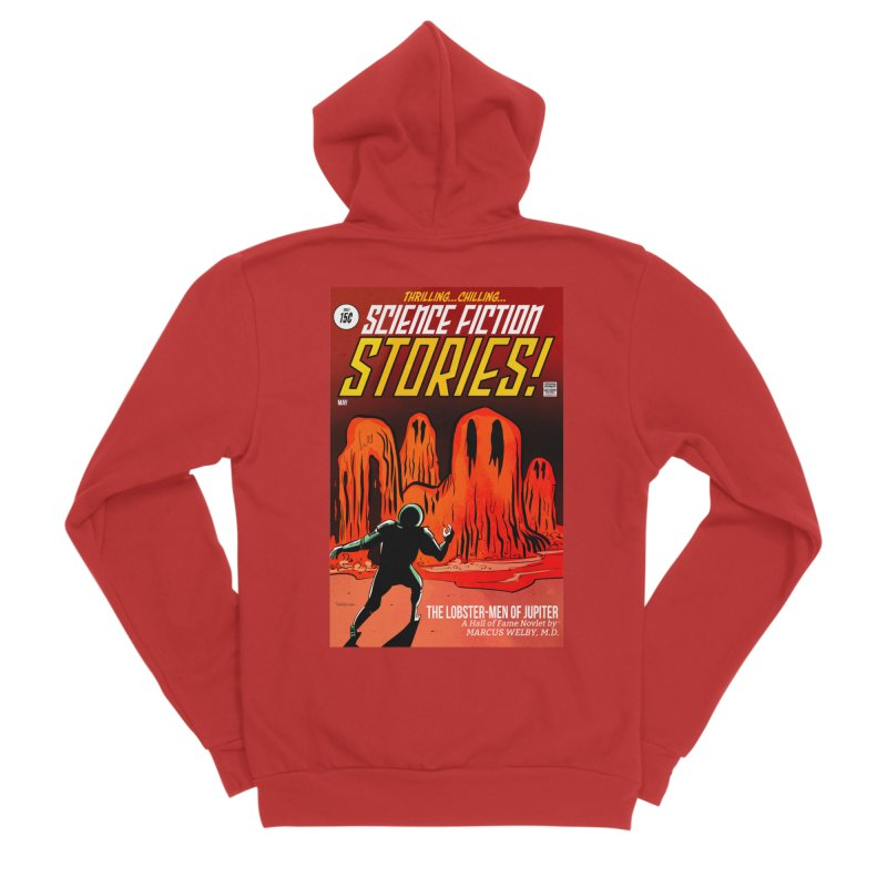 Lobster Men from Mars Women's Zip-Up Hoody by Krishna Designs
