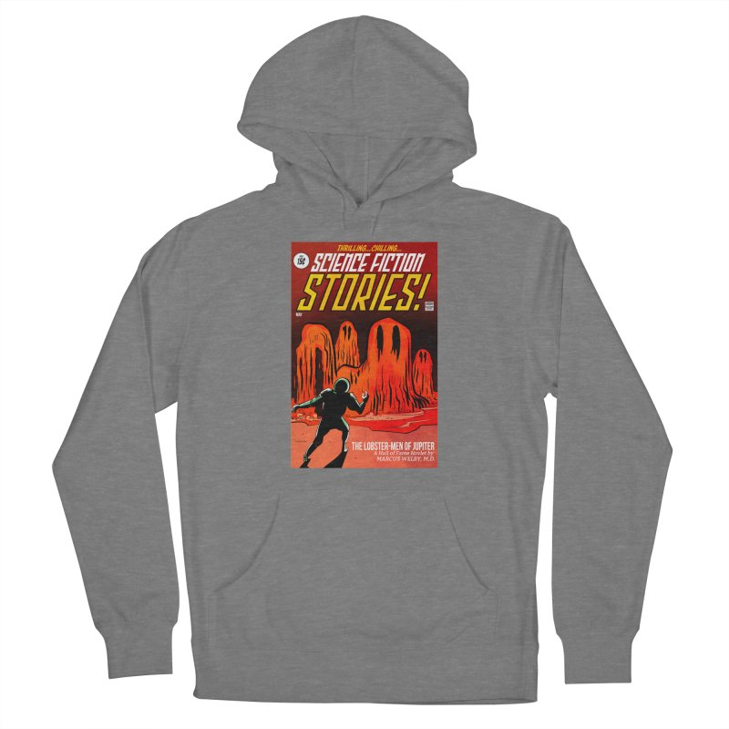 Lobster Men from Mars Women's Pullover Hoody by Krishna Designs