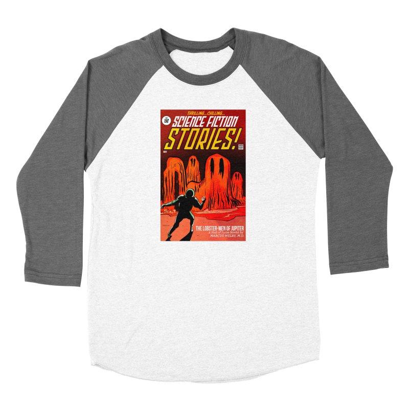 Lobster Men from Mars Women's Longsleeve T-Shirt by Krishna Designs