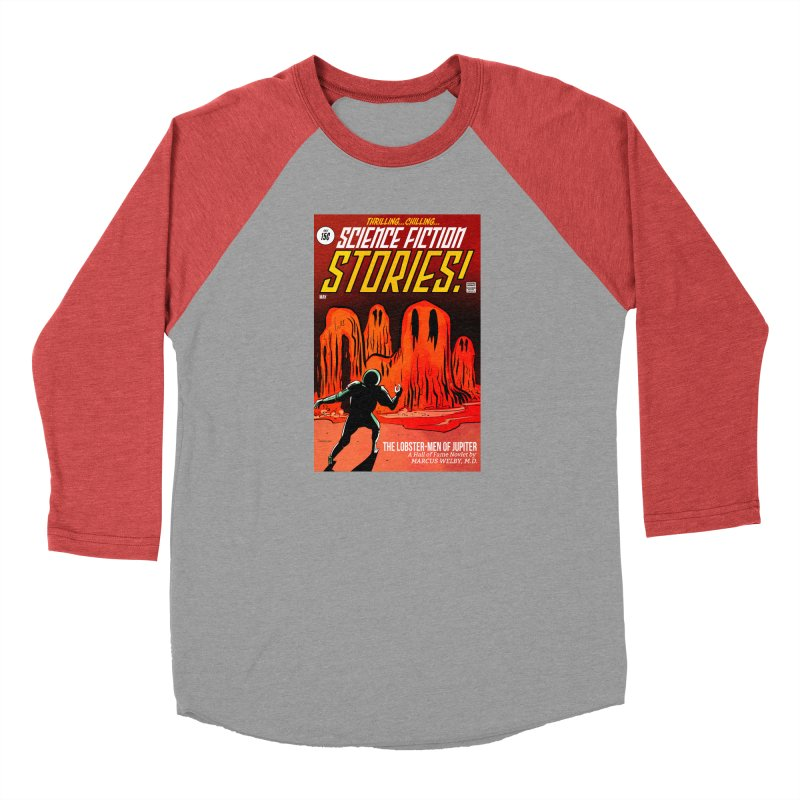 Lobster Men from Mars Men's Longsleeve T-Shirt by Krishna Designs