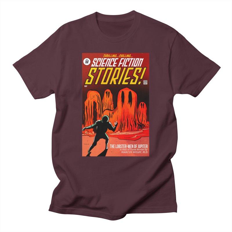 Lobster Men from Mars Men's T-Shirt by Krishna Designs
