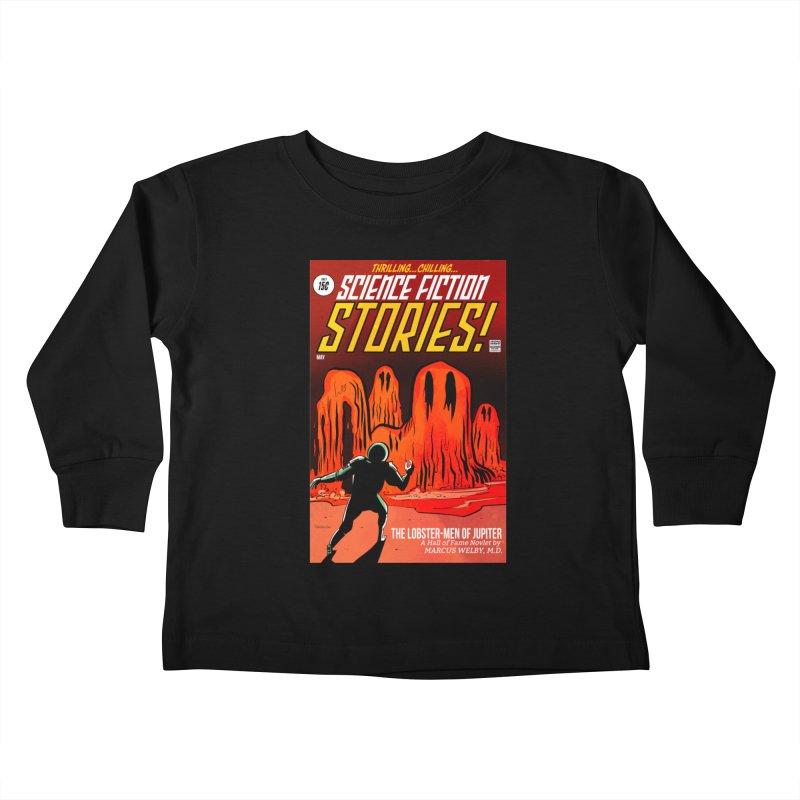 Lobster Men from Mars Kids Toddler Longsleeve T-Shirt by Krishna Designs