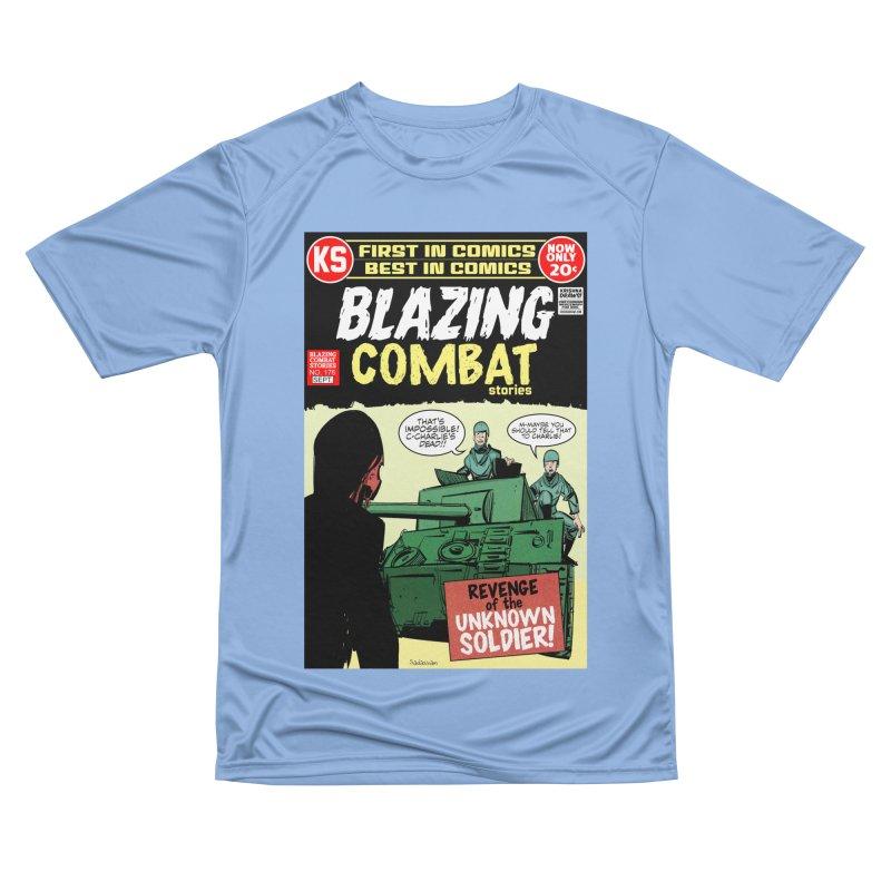 Blazing Combat Men's T-Shirt by Krishna Designs