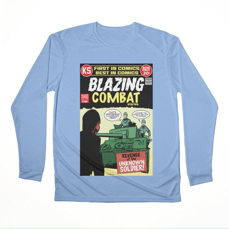 Blazing Combat Women's Longsleeve T-Shirt by Krishna Designs