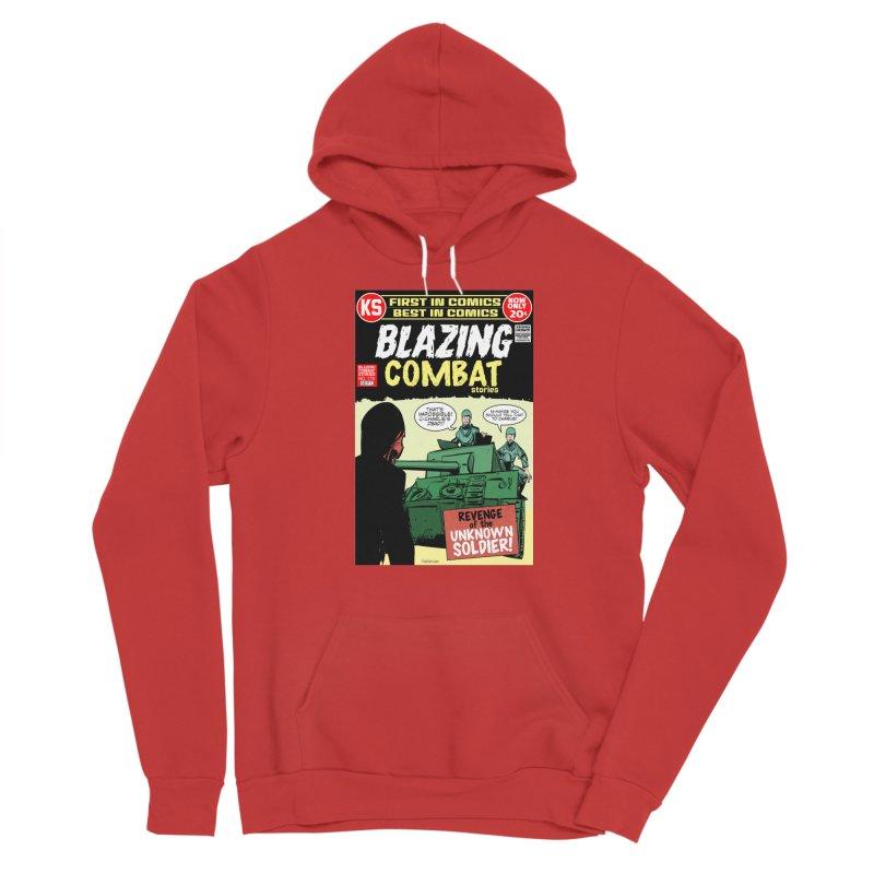 Blazing Combat Men's Pullover Hoody by Krishna Designs