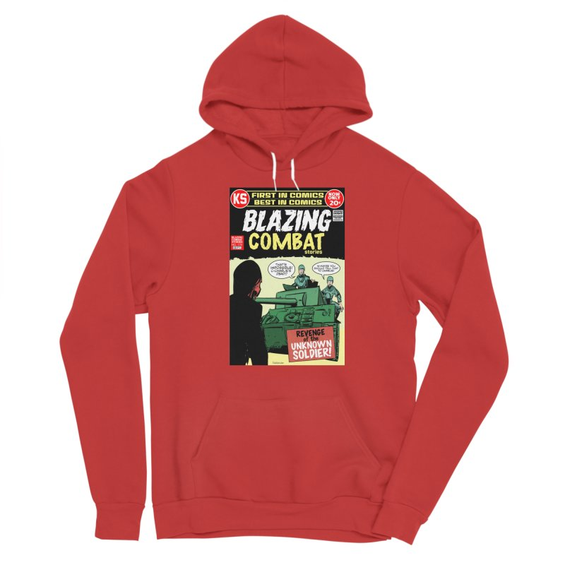 Blazing Combat Women's Pullover Hoody by Krishna Designs