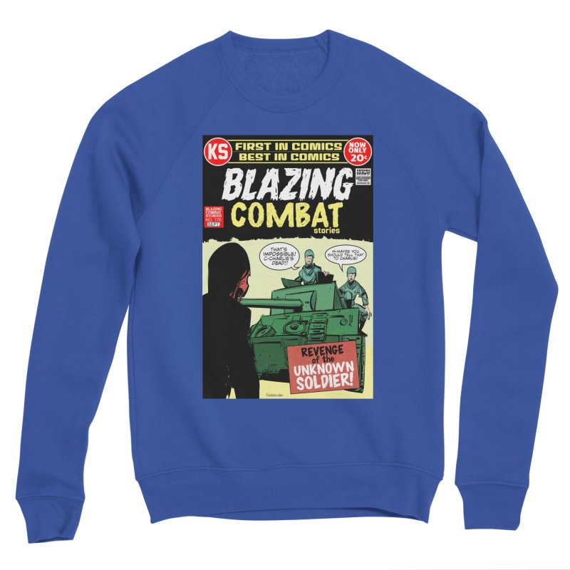 Blazing Combat Women's Sweatshirt by Krishna Designs