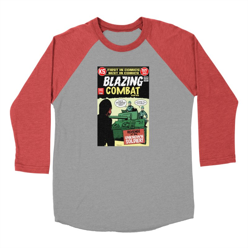 Blazing Combat Men's Longsleeve T-Shirt by Krishna Designs