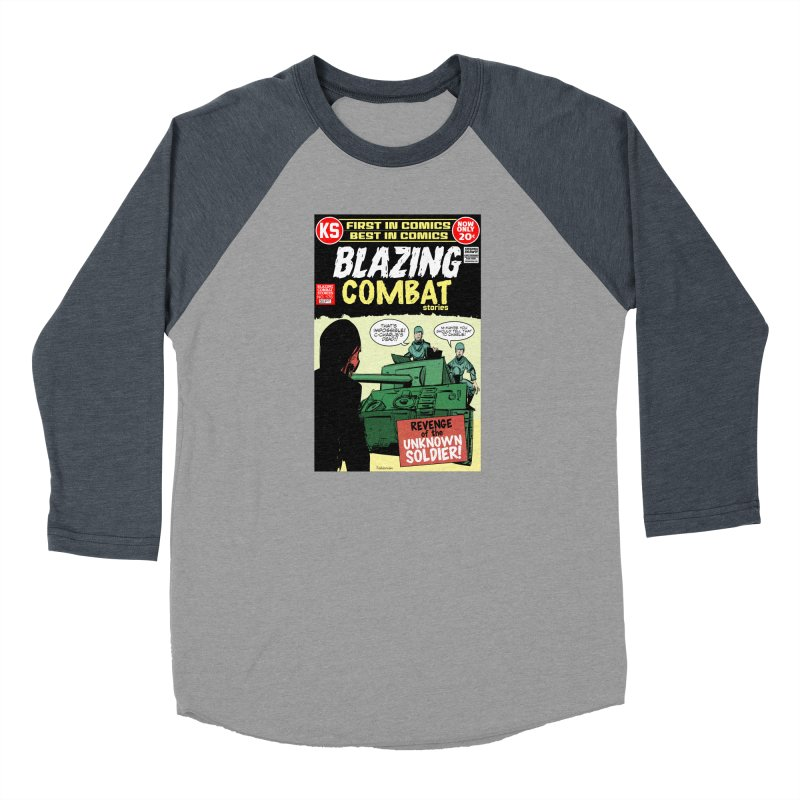 Blazing Combat Men's Longsleeve T-Shirt by Krishna Designs