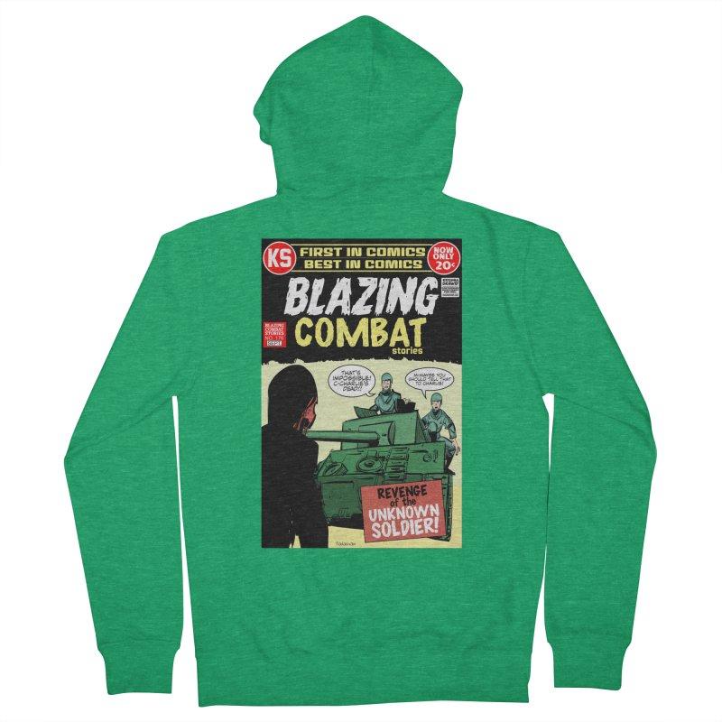 Blazing Combat Women's Zip-Up Hoody by Krishna Designs