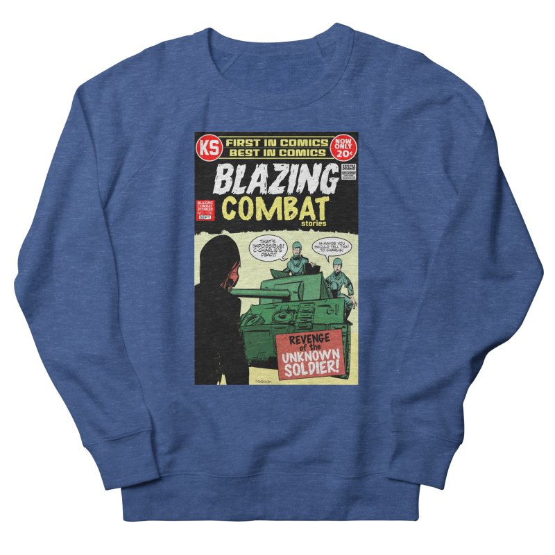 Blazing Combat Men's Sweatshirt by Krishna Designs