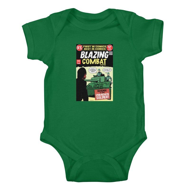 Blazing Combat Kids Baby Bodysuit by Krishna Designs