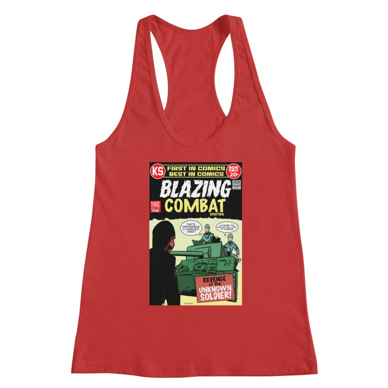Blazing Combat Women's Tank by Krishna Designs
