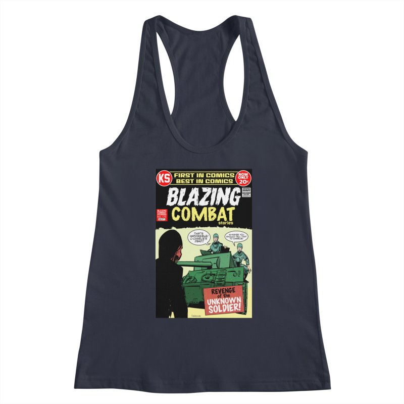 Blazing Combat Women's Tank by Krishna Designs