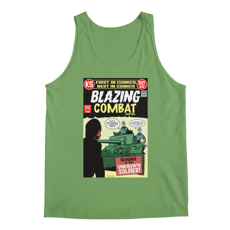 Blazing Combat Men's Tank by Krishna Designs
