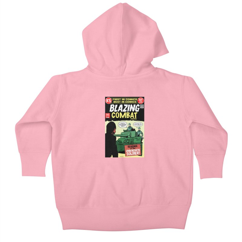 Blazing Combat Kids Baby Zip-Up Hoody by Krishna Designs