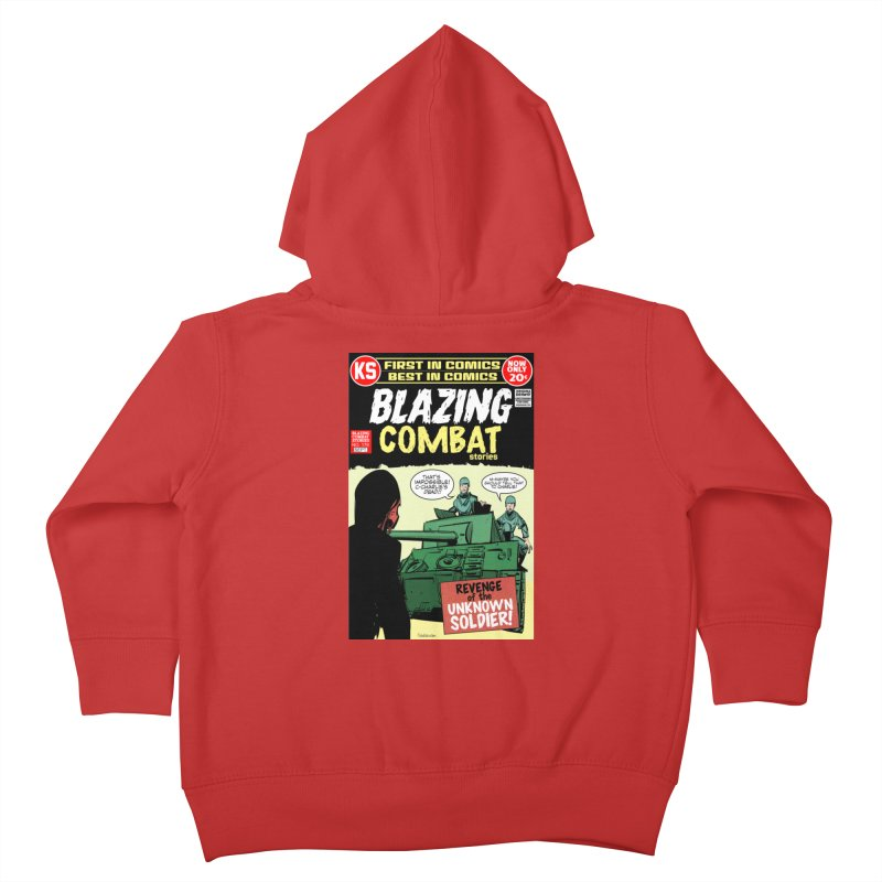 Blazing Combat Kids Toddler Zip-Up Hoody by Krishna Designs