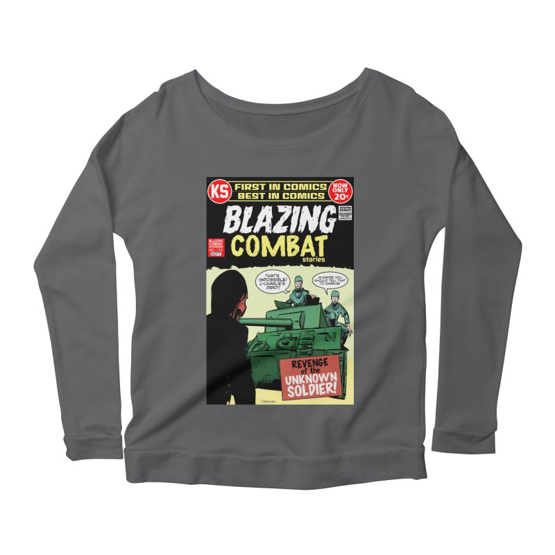 Blazing Combat Women's Longsleeve T-Shirt by Krishna Designs