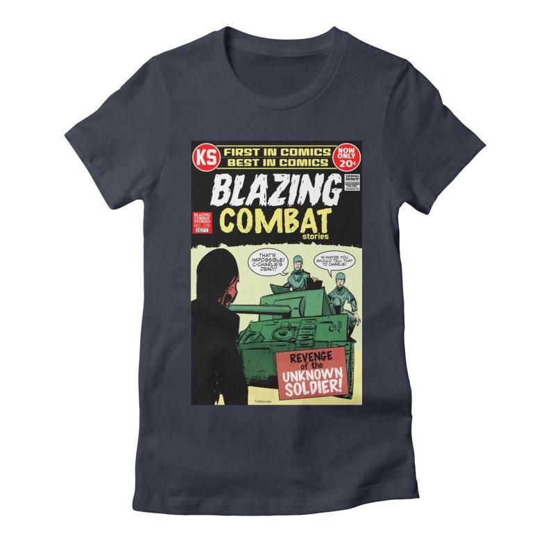 Blazing Combat Women's T-Shirt by Krishna Designs
